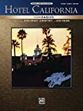 Partition vari�t�, pop, rock... ALFRED PUBLISHING EAGLES THE - HOTEL CALIFORNIA - PVG Piano voix guitare