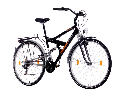 karcher damen trekking fully fahrrad 21 gang shimano. Black Bedroom Furniture Sets. Home Design Ideas
