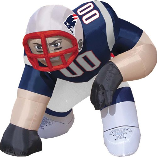 New England Patriots Bubba Inflatable Lawn Decoration