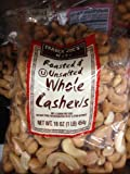 Trader Joes Roasted & Unsalted Whole Cashews 1lb