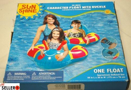 "Sun Shine 68"" Caterpillar Pool Float - 1"