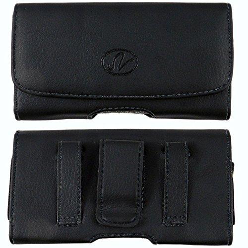 bin-leather-belt-clip-case-with-magnetic-closure-videocon-phones