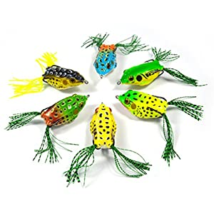Supertrip Topwater Frog Crankbait Tackle Crank Bait Bass Soft Swimbait Lures Crankbaits Baits Hard Bait Fishing Lures