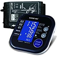 GoWISE USA Digital Blood Pressure Monitor (Black & White)