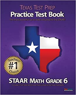 texas test prep practice test book staar math. Black Bedroom Furniture Sets. Home Design Ideas