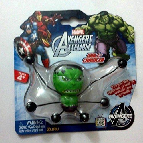 Marvel Incridible Hulk Avengers Assemble Wall Crawler By Zuru - 1