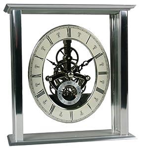 Acctim 36507 Malvern - Reloj de mesa, color plateado y transparente por Acctim
