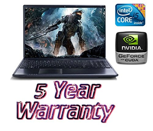 New Acer i5 Turbo Gaming Laptop, 2 Graphics Cards inc Dedicated 2GB Geforce, 1TB HDD, 4GB Ram, Windows 10, inc 5 Year Warranty