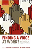 Finding a Voice at Work?: New Perspectives on Employment Relations