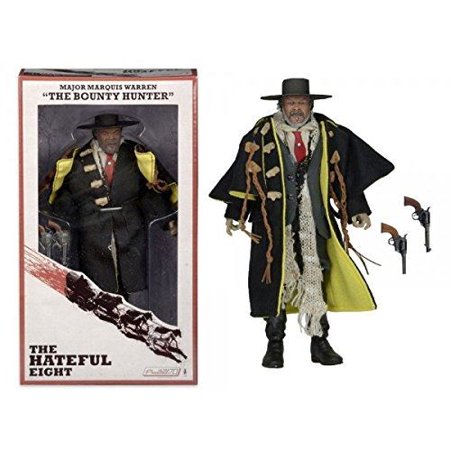 "The Hateful Eight Major Marquis Warren ""The Bounty Hunter"" Samuel L. Jackson 8"" Action Figure"