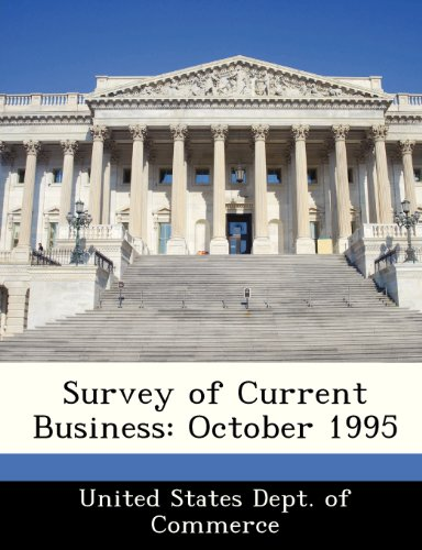 Survey of Current Business: October 1995