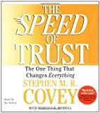 Stephen M. R. Covey The Speed of Trust