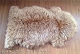 ラ・ムートン ムートンラグ 子羊一匹物 (ライトブラウン)