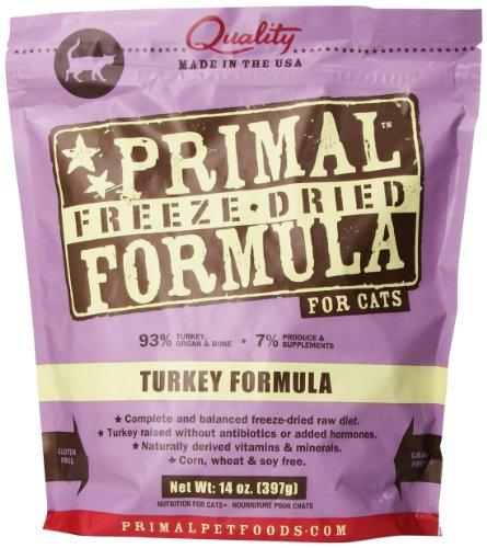 Primal Pet Foods Freeze-Dried Feline Turkey Formula