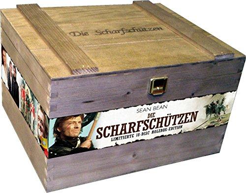 Die Scharfschützen - Die komplette Serie (Special 18 Disc Holzbox Edition) [18 DVDs]