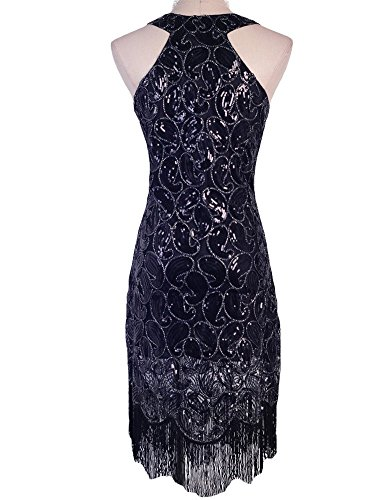 KAYAMIYA-Womens-1920s-Sequined-Paisley-Pattern-Fringe-Gatsby-Flapper-Dress