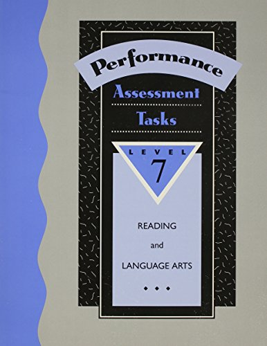 Performance-Based Assessment Tasks: Reading/Language Arts PDF