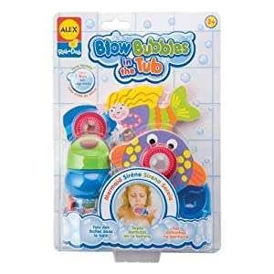 Alex Toys Rub-a-Dub Blow Bubbles - Mermaid