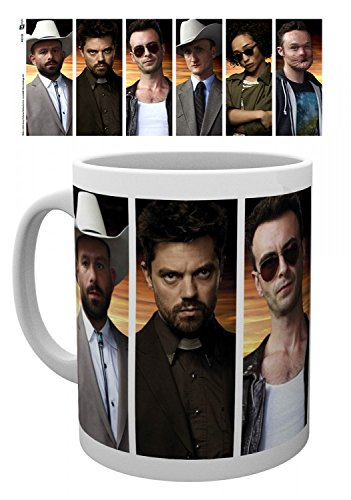 Set: Preacher, Characters Tazza Da Caffè Mug (9x8 cm) e 1 Sticker sorpresa 1art1®