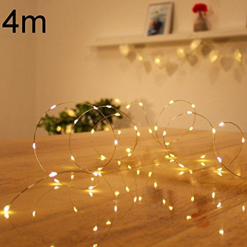Micro-LED-lichterkette-warmwei-Draht-Lichterkette-Leuchtdraht-mit-mini-Tropfen-auf-Silberdraht-Weihnachtsbeleuchtung-80er-LED-Strom