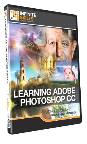 Learning Adobe Photoshop CC Training DVD (PC/Mac)