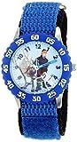 Disney Kids' W001784 Frozen Analog Display Analog Quartz Blue Watch