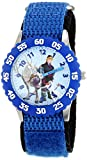 Disney Kids' Frozen Kristoff, Sven Character Watch, W001784, Woven Blue Band