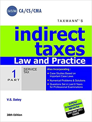 V.S Datey - Indirect Taxes Book 2017 Edition -