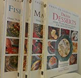 img - for 4 Volumes of Creative Cooking Library: The New Fish & Seafood Cookbook; The New Chicken Cookbook; Classic Main Courses; Dream Desserts book / textbook / text book