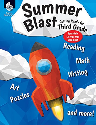 Summer Blast: Getting Ready for Third Grade (Spanish Language Support)  [Wendy Conklin] (Tapa Blanda)