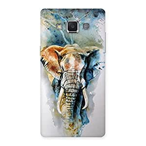 Stylish Elephant Art Back Case Cover for Samsung Galaxy A5