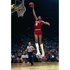 NBA New Jersey Nets Philadelphia 76ers Great Dr. J Julius Erving 20x30 Poster Photo by Payless Photos