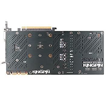 EVGA GeForce GTX 980 Ti 6GB K|NGP|N w/ACX 2.0+ (72%+ ASIC), Whisper Silent w/ Multi-Color LED Cooler, Customized Overclocking Graphics Card 06G-P4-5998-KR [並行輸入品]