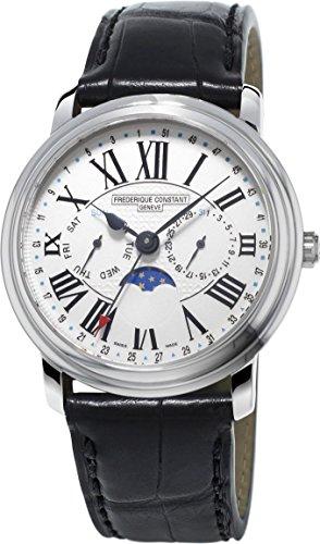 Frederique Constant Geneve Classic Business Timer FC-270M4P6 Reloj de Pulsera para hombres Legibilidad Excelente
