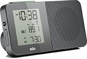 braun bnc010 digital radio alarm clock grey kitchen home. Black Bedroom Furniture Sets. Home Design Ideas