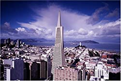 Transamerica Tower in San Francisco - Beautiful 16x20 Photographic Print by Carol M. Highsmith
