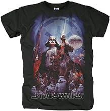 Comprar Bravado - Camiseta de Star Wars con cuello redondo para hombre
