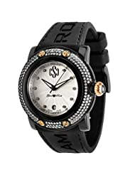Glam Rock Women's GR60001 Miami Beach Collection Diamond Accented Watch