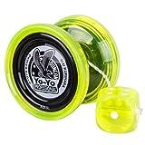 Duncan Freehand Pro Yo-Yo with Counterweight (Edge Glow Green) (Color: Edge Glow Green)