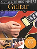 img - for Absolute Beginners Guitar: The complete picture guide to playing the Guitar (includes CD) book / textbook / text book