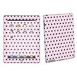 Apple iPad 2 Tablet Decal Vinyl Skin Pink Black Dot By Skinguardz