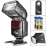 Altura Photo AP-UNV1 Bundle - DSLR Camera Flash Speedlite for Canon Nikon