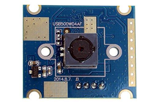 ELP 5MP 60 Grad-Autofokus-Kamera mit Usb Ov5640 Sensor für Linux / Android / Mac / Windows-PC-Webcam
