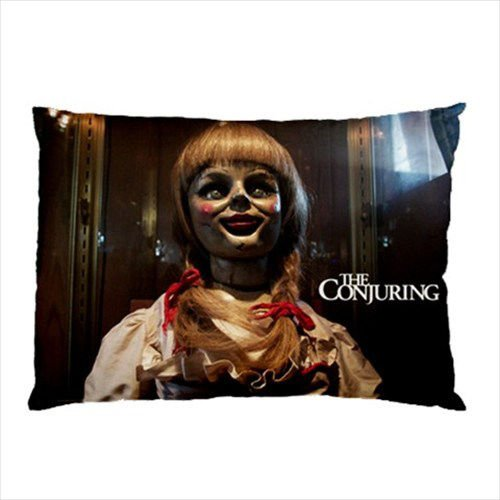 New New Annabelle The Doll Movie The Conjuring Pillow Case Collectors Great Gift 20x30 Inch One Side
