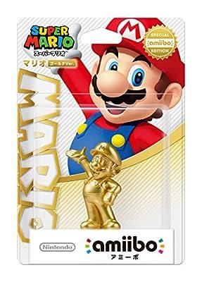 NEW Amiibo Gold Mario Japan ver. Super Smash Bros Wii U 3DS Import from Nintendo