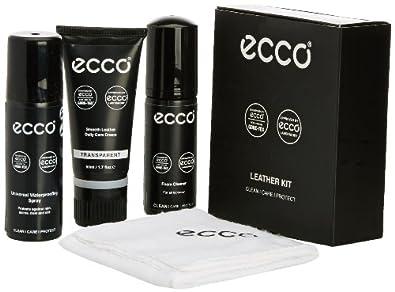 ECCO Unisex-Adult Leather Shoe Care Kit, Transparent, One Size