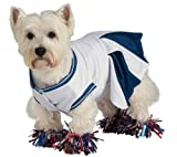 Deluxe Cheerleader Pet Costume, Small