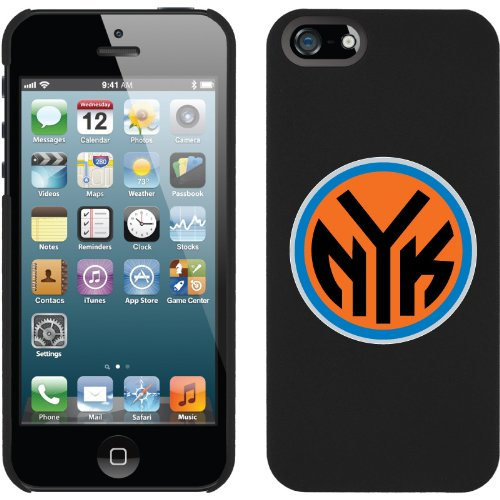 Great Sale New York Knicks - NYK design on a Black iPhone 5s / 5 Thinshield Snap-On Case by Coveroo