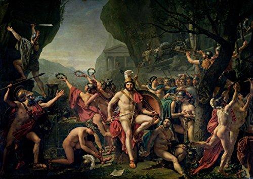jacques-louis-david-leonidas-at-thermopylae-480-bc-spartan-king-fine-art-print-poster-size-a3-42cm-x