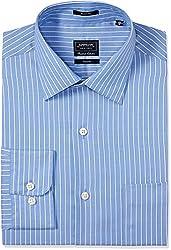 Arrow Men's Formal Shirt (8907378497178_ASSF0003_46_Medium Blue)